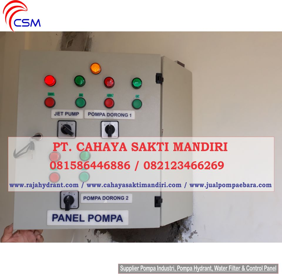 Control Panel Pompa - Hydrant Pump Specialist