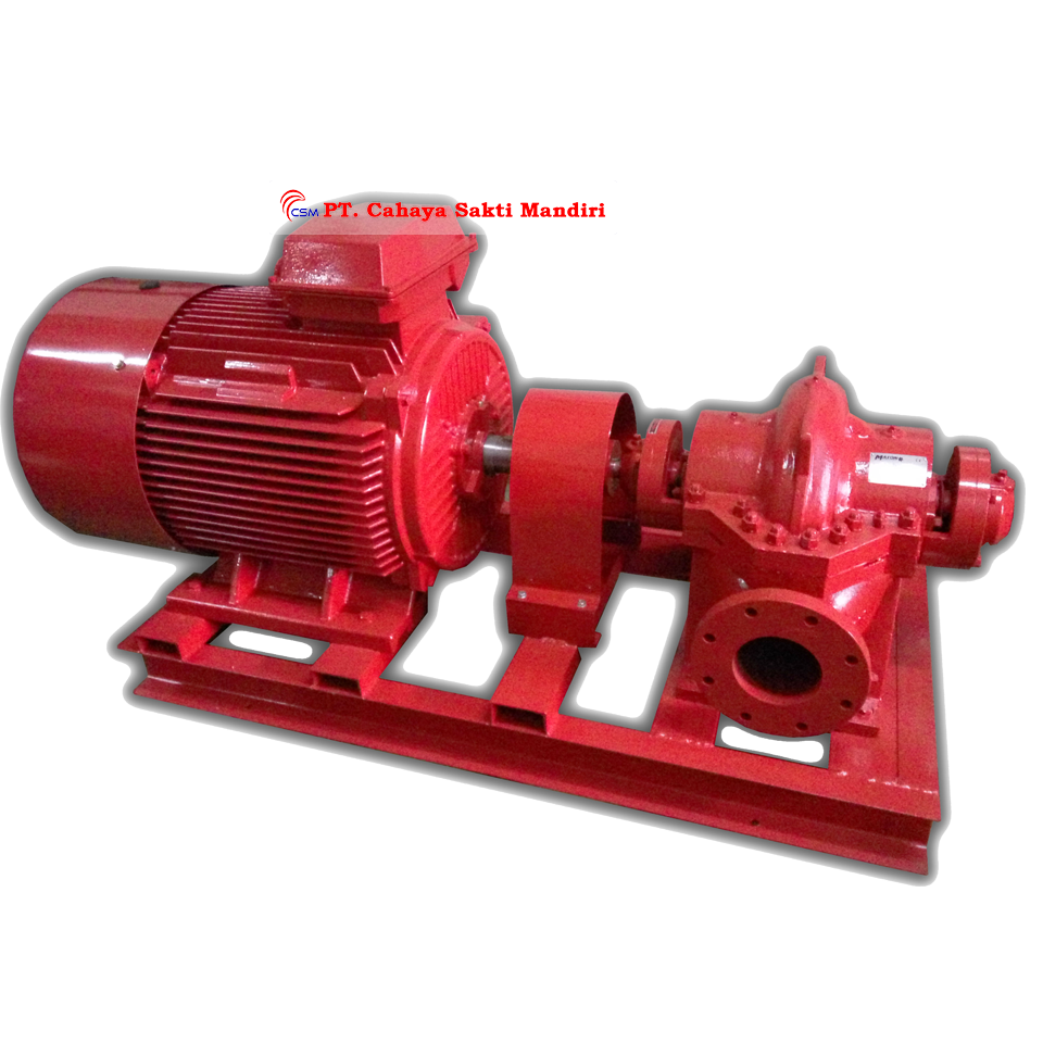 Horizontal Split Case - Electric Hydrant Pump